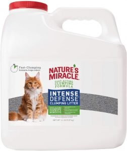 Nature's Miracle P-98135 Intense Defense Clumping Litter